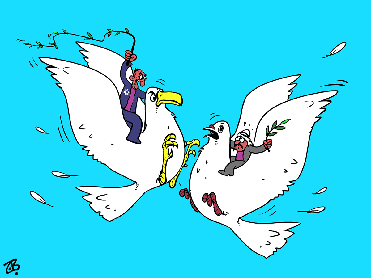 arab peace initiative dove fight arabs israel whipp sky olive branch recycled 07-03-29