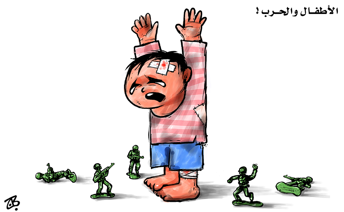 children of iraq pay the price of war atfal thaman toy soldiers cry baby surrender unicef 12-06-11