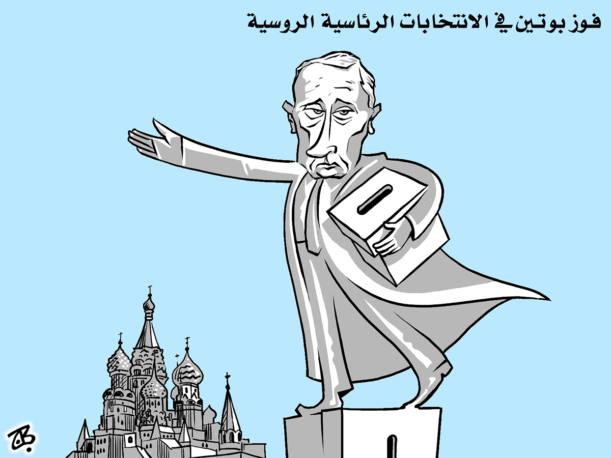 russian elections putin ballot box moscow red square dictator statue 12-03-05